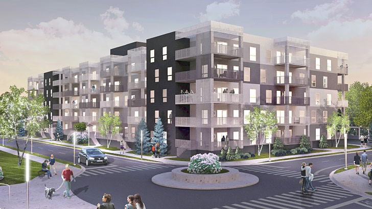 Oxbow Condo/Apartment Buildings (Phase 1-3)